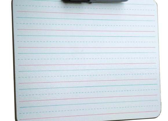 Portable Lined Note/Handwriting Whiteboards