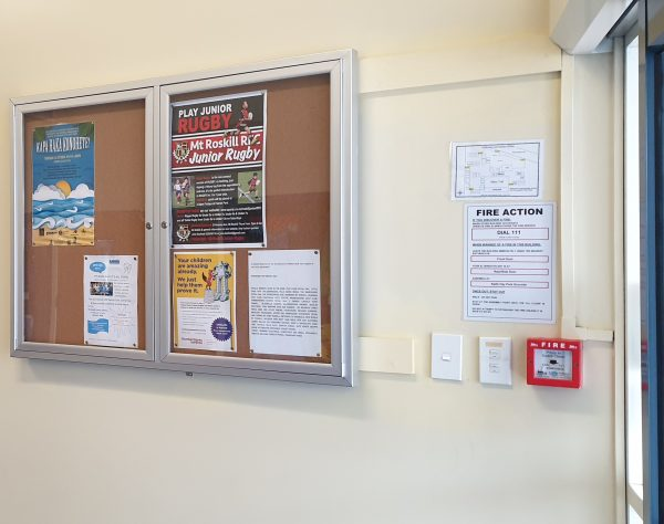 LOCKABLE Noticeboards