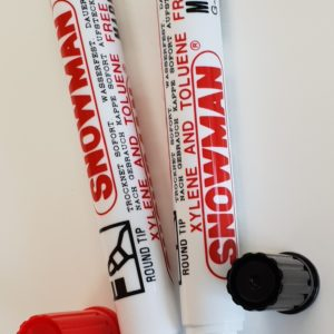 SNOWMAN  Permanent markers – bullet tip