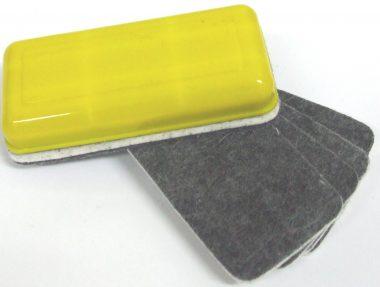 Magnetic refillable eraser