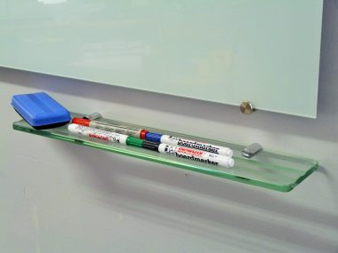 Glass Pen tray for glass whiteboards