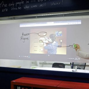 Smart Self-adhesive Whiteboard & Projection Film – White Low Sheen