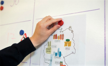 Smarter Surfaces writable and magnetic wall - any colour is possible!