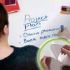 Writing on Smart Self Adhesive Whiteboard Film